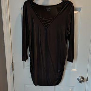 Jessica Simpson maternity top, 3/4 sleeves